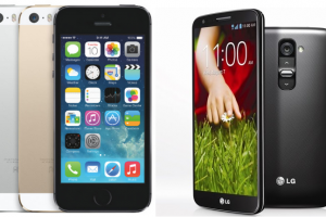 Android Phone Wars: LG G2 vs Apple iPhone 5S