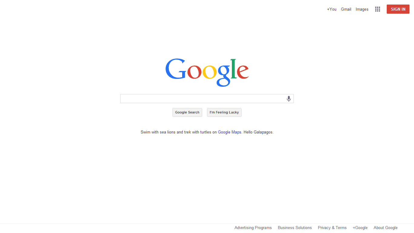 Google homepage gets flattened looks like chrome os - Google home page design ...
