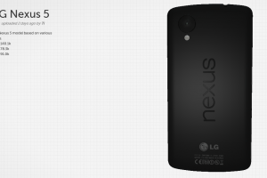 Want to Check Out the Nexus 5 Before it's Released? You Can With This Virtual 3D Render