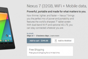 Nexus 7 LTE Now Available in Australia, Canada, Germany, Spain, France, Italy, UK, Japan, South Korea and the US (Again)