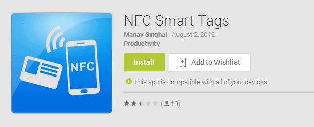 nfc-smart tags