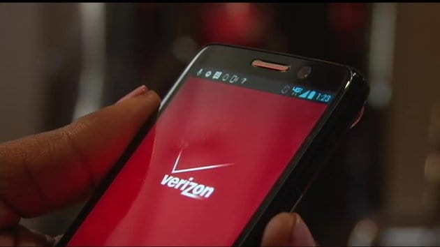 verizon logo smartphone