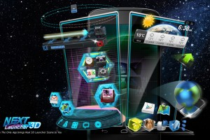 Sponsored App Review: Next Launcher 3D
