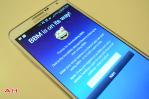 Getting Started with BBM on Android