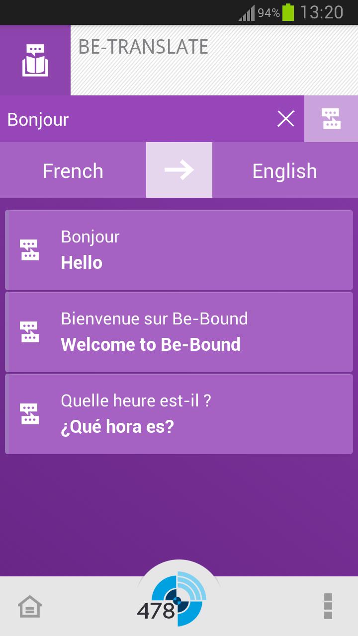Be Translate