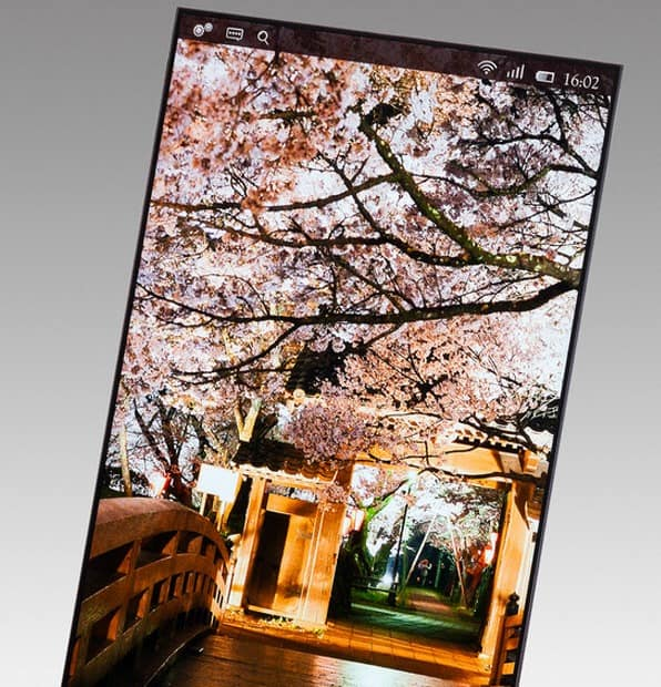 Japan Display Shows off Their New 5.4-Inch Display of 2560x1440