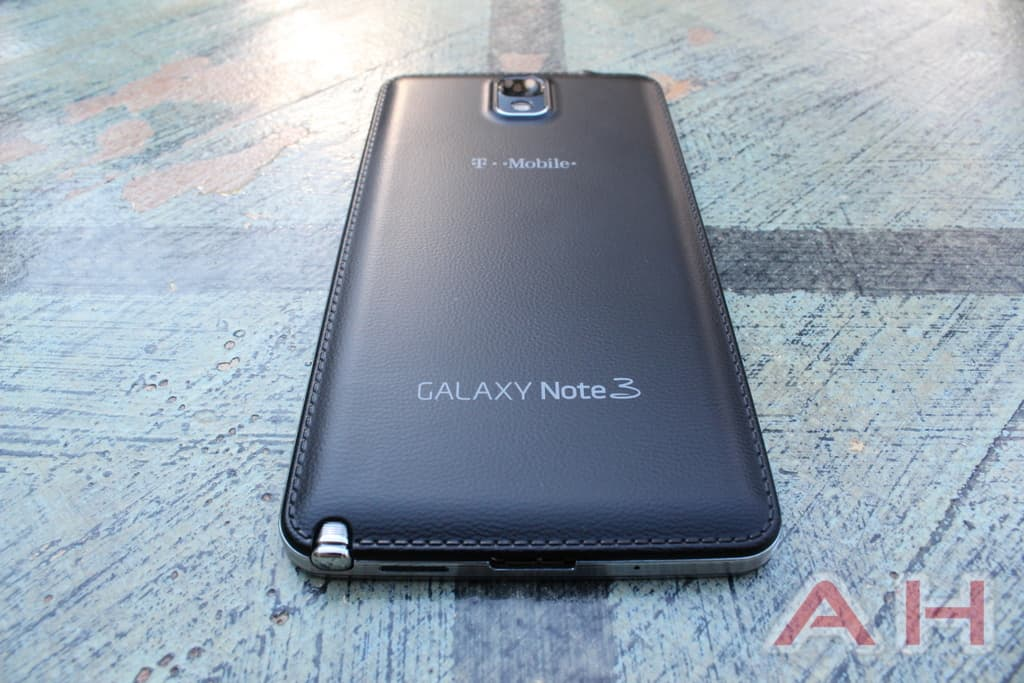 Samsung galaxy note writing to speech