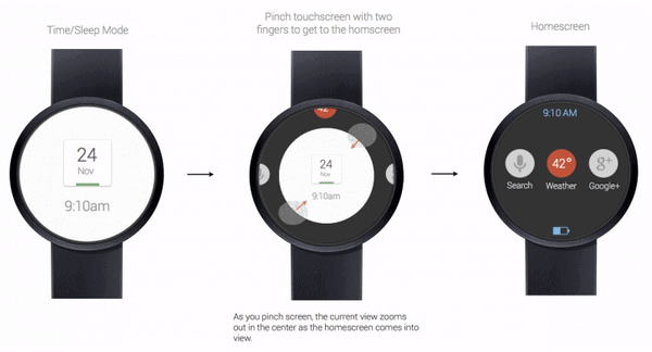 Google Watch 3 round