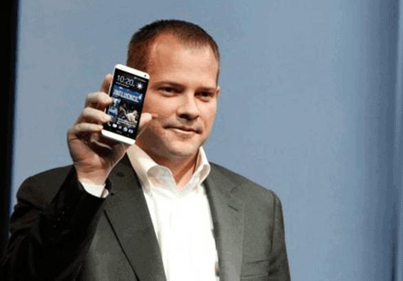 HTC Americas President Jason Mackenzie