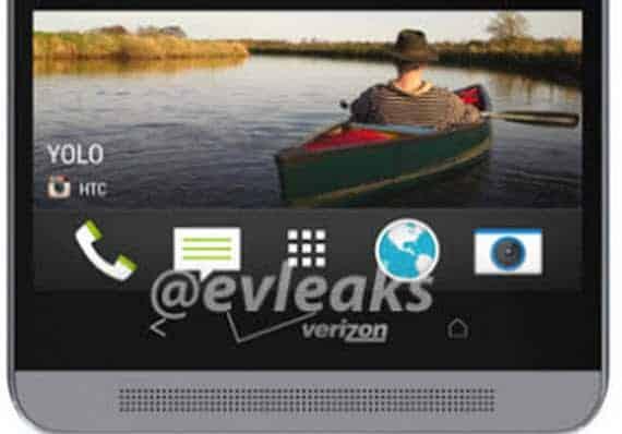 HTC One Verizon front
