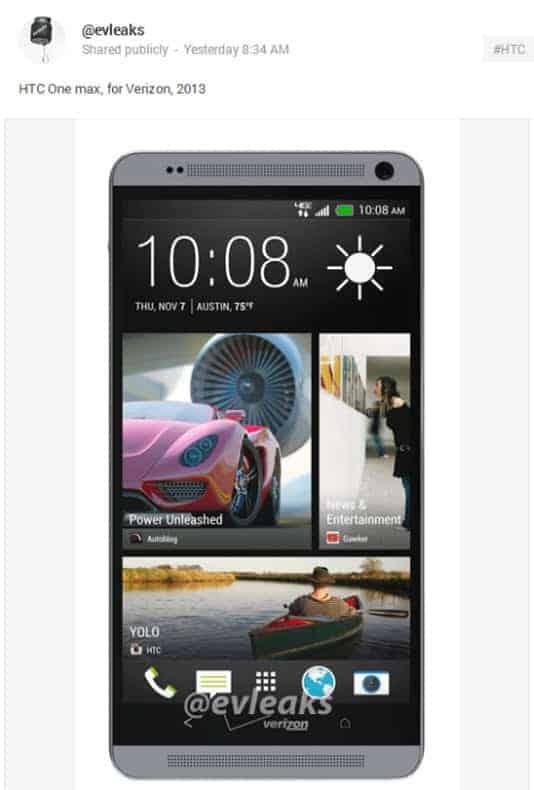 HTC One Verizon