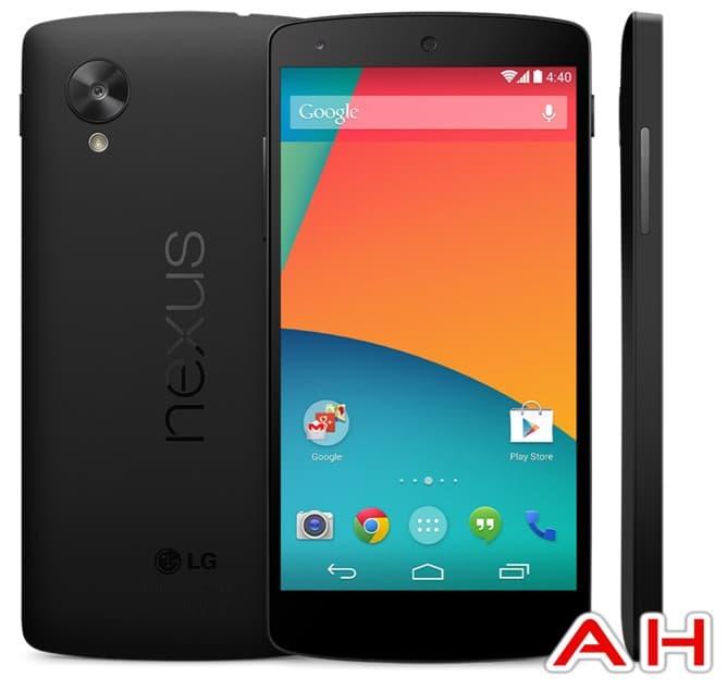 LG Nexus 5 Android Healdines