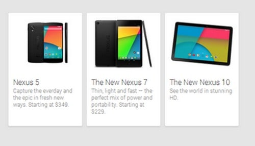 Nexus 10 Sneak Preview