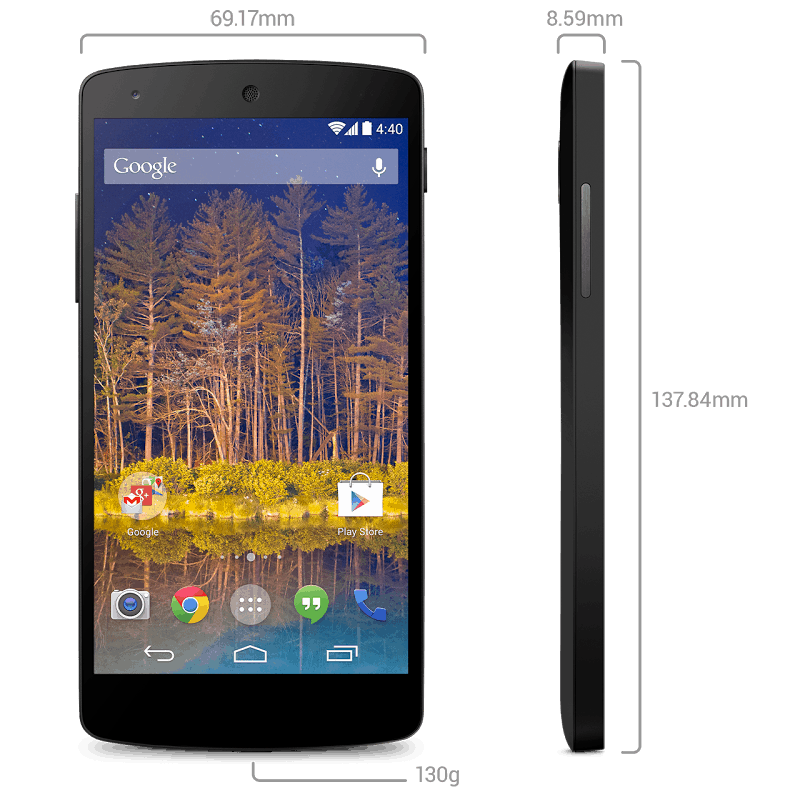 Nexus 5 Official press image 3