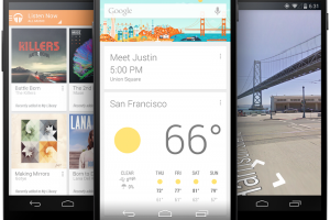 "Nexus 5 Goes Touchless with ""OK Google"" Commands"