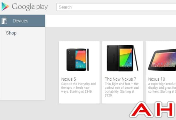 Nexus 5 Playstore