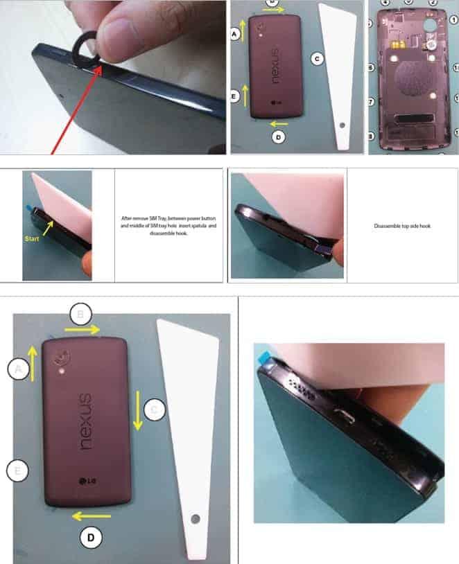 Nexus 5 leak manual