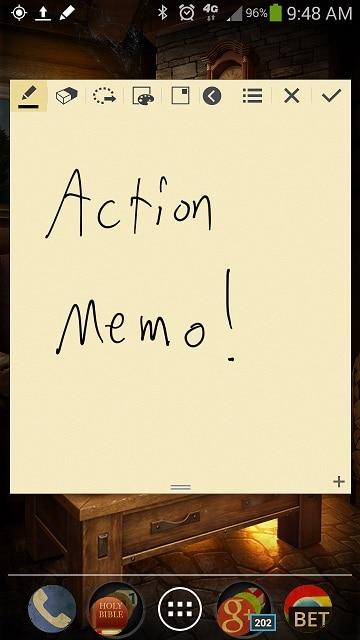 Note-3-Action-Memo