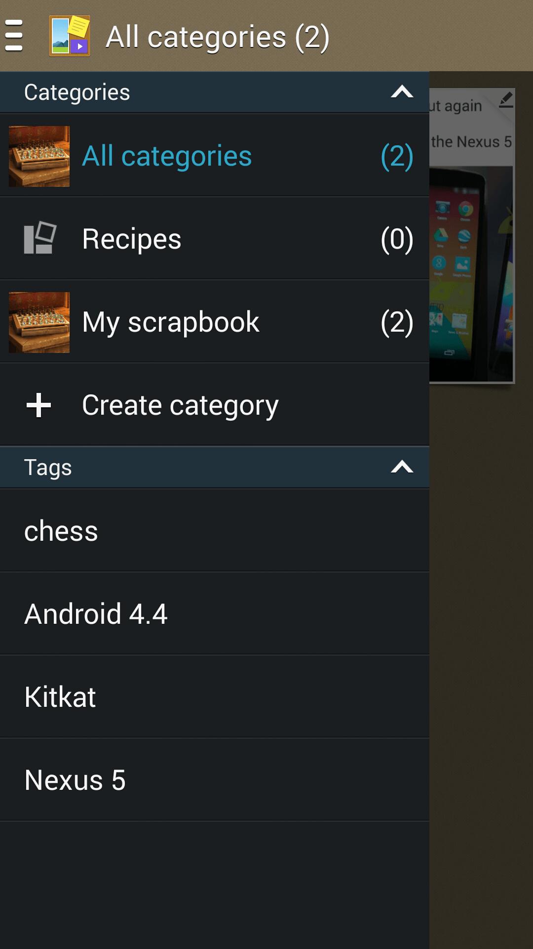 How to scrapbook on note 3 -  Note 3 Scrapbooker 5