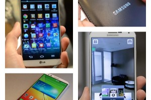 Android Phone Comparisons: Samsung Galaxy Note 3 vs LG G2