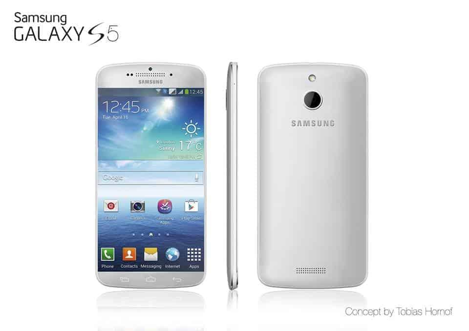 Samsung Galaxy 5 Render Concept