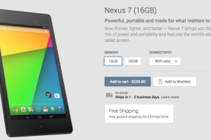 Nexus 7 Google Play Store Page Gets Minor Redesign