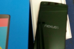 Somewhere, A Nexus 5 Has Been Unboxed