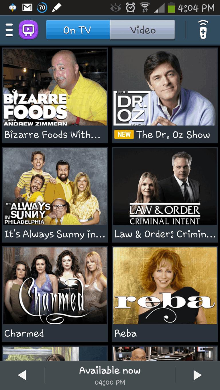 TV Listing