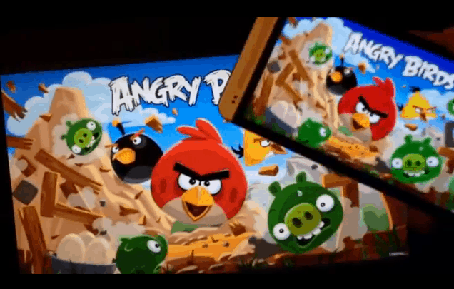 airplay-angry birds