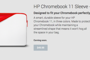 Google Adds New Colors of the HP Chromebook Sleeve and Nexus 7 (2013) Sleeve to Play Store