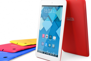 Alcatel ONE TOUCH POP 7 Leaks, Shows A Colorful Android Tablet