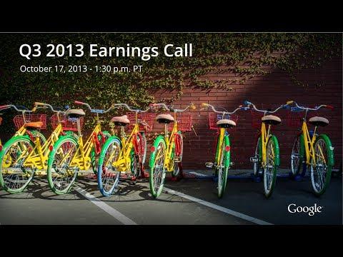 Video thumbnail for youtube video Google's Q3 2013 Earnings: $14.9 Billion Revenue, $3.64 Billion Net Income | Androidheadlines.com