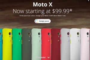 Moto X Now Starts at $99 From Moto Maker and Carriers