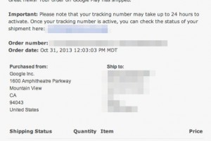 Surprise! Nexus 5 Orders Already beginning to Ship