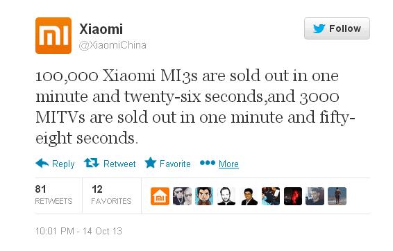 xiaomi-mi3-sells-out
