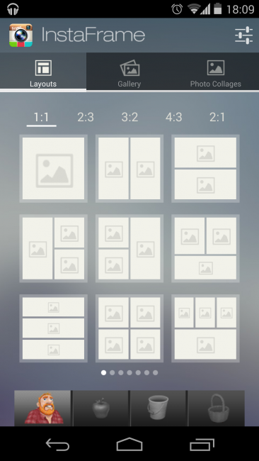 Sponsored App Review: InstaFrame Collage | Androidheadlines.com