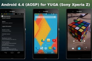 Source-built Android 4.4 KitKat Rom is now available for Sony Xperia Z