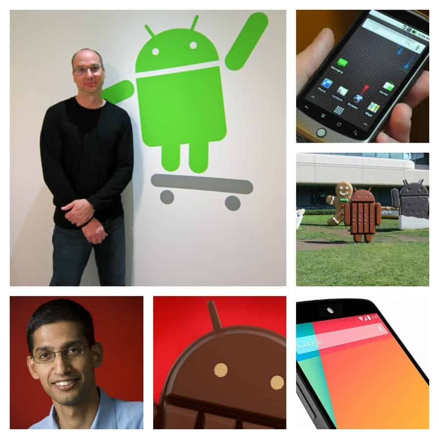 Andy Rubin Collage