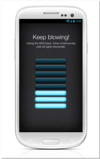 BACtrack Mobile Breathalyzer Blow Now!