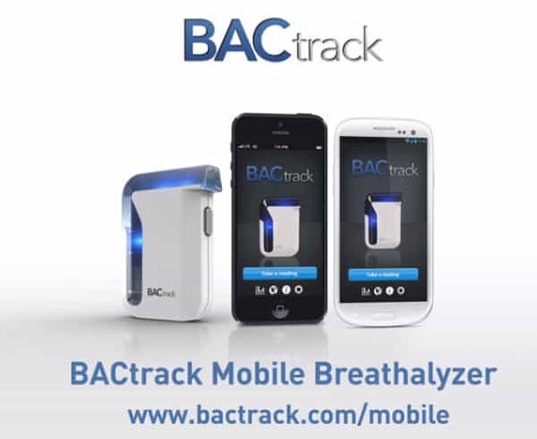 BACtrack Mobile Breathalyzer Feature