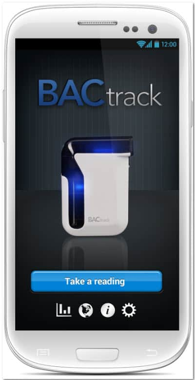 BACtrack Mobile Breathalyzer Main