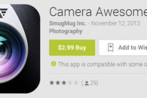 "Camera Awesome App Now Available for Android – Prepare to be ""Awesomized"""