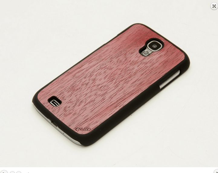 Carved Case - Purpleheart 1