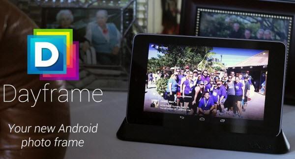 Dayframe Tablet Photo Smaller