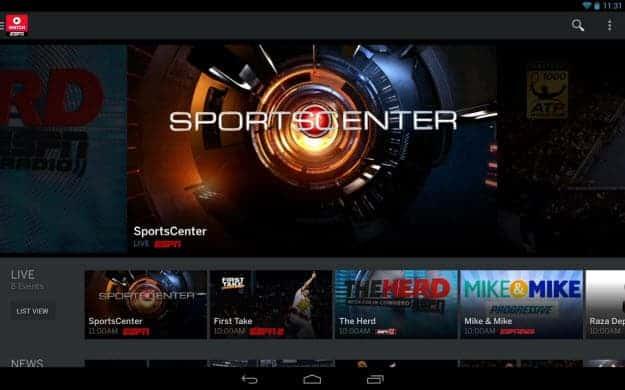 ESPN Tab 1