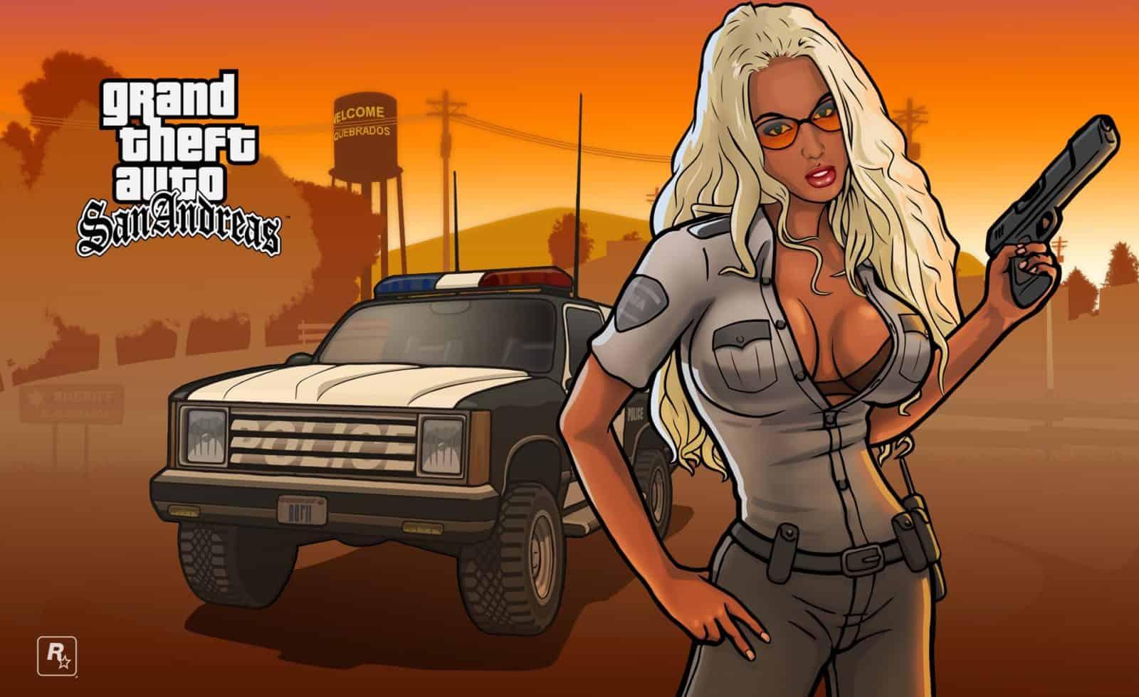 GTA San Andreas Amy Anderssen