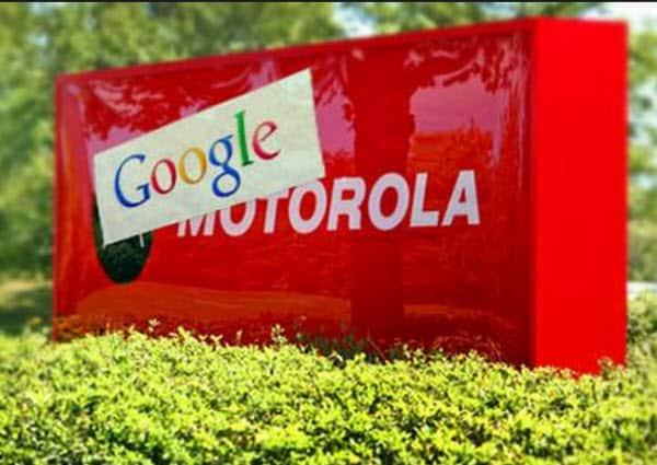 Google-Moto Sign