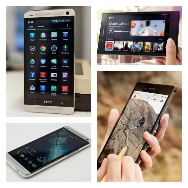 HTC max vs Sony Z Ultra Collage