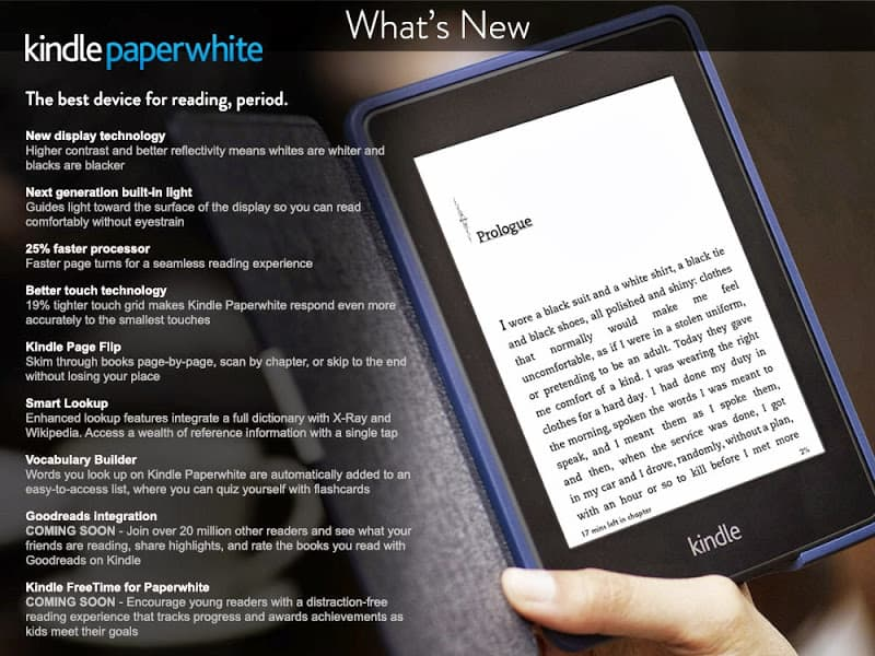 Kindle Paperwite