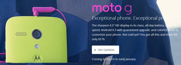 Moto G in Pocket